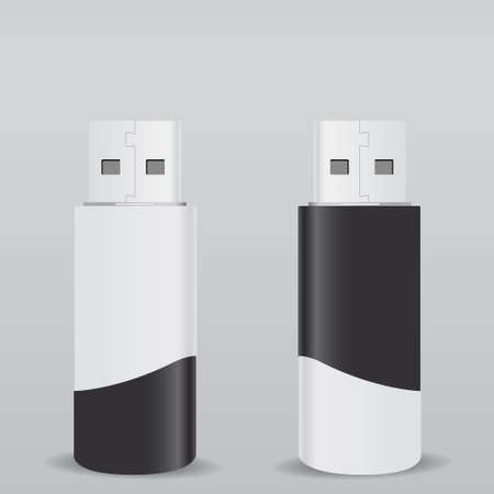 flash drive: Vector USB Flash Drive
