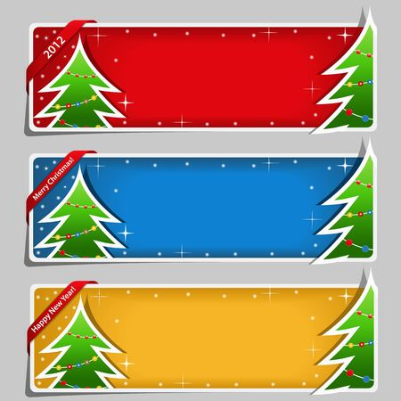 Christmas Banners Stock Vector - 11365573
