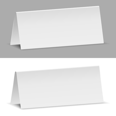 Paper Banners, Transparent Shadow Vector