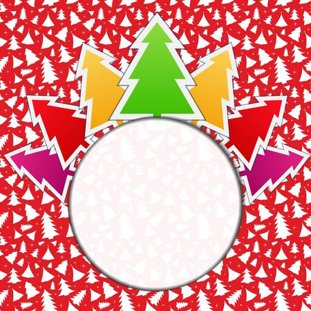 Christmas Card Stock Vector - 11365608