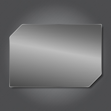 Metal Plate Stock Vector - 11367569