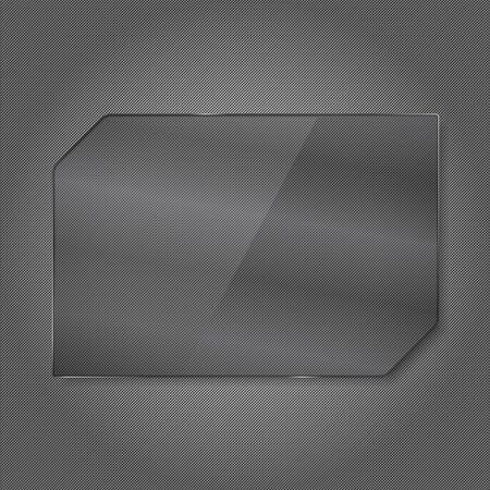 Abstract Glass Frame Vector