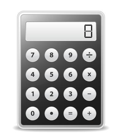 8,352 Digital Calculator Stock Vector Illustration And Royalty ...