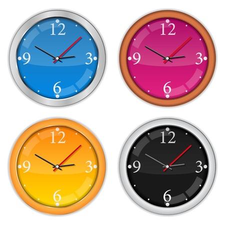 reloj pared: Iconos del reloj