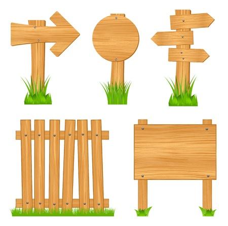 merken: Holzobjekte