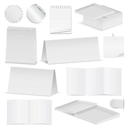 papier pli�: Objets en papier