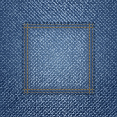 empty pocket: Jeans background