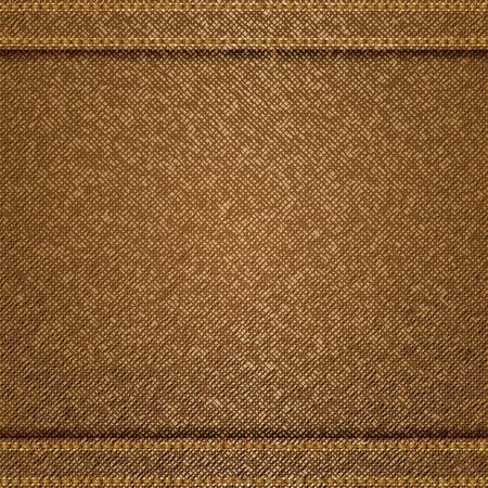 tela algodon: Jeans de fondo Vectores