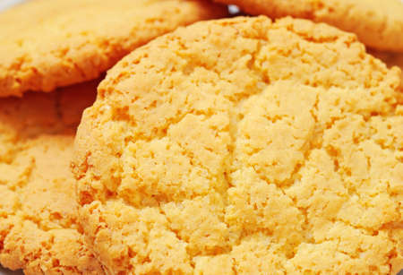Close-up of oatmeal cookies photo