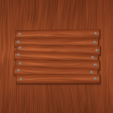 Wooden board Stock Vector - 11933126