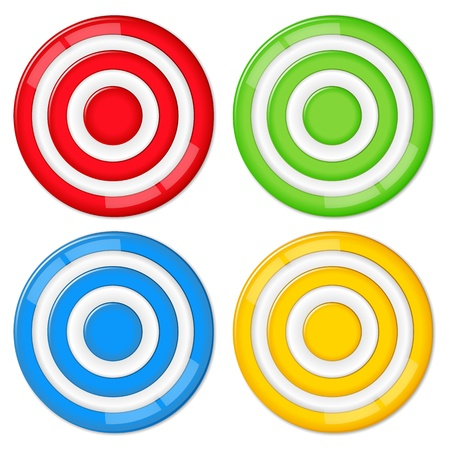 Vector targets Stock Vector - 11933131