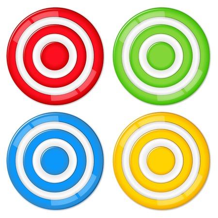 Vector targets Stock Vector - 11933131