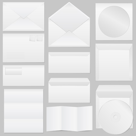 Paper Envelopes Vector