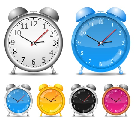 Alarm clocks Stock Vector - 12022007