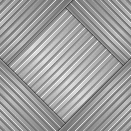 steel bar: Metal Striped Background Illustration