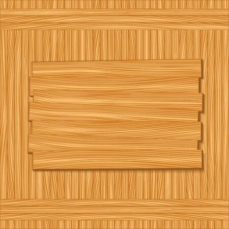 Wooden board Stock Vector - 12054109
