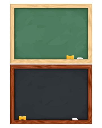 board room: pizarras en el fondo blanco