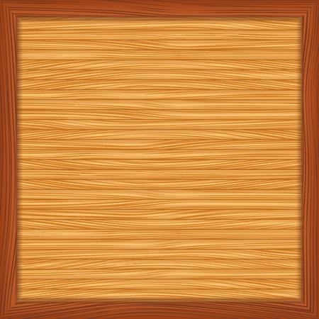 log wall: Empty bulletin board