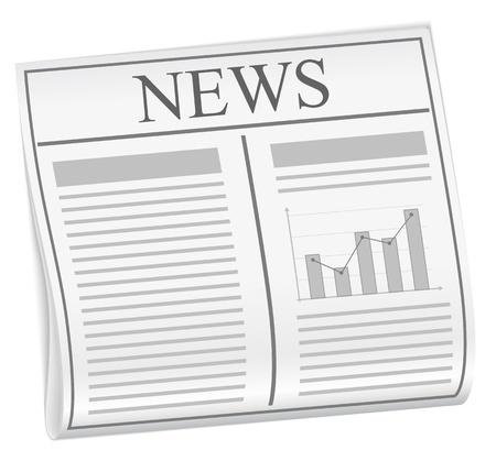 Newspaper Stock Vector - 12483353