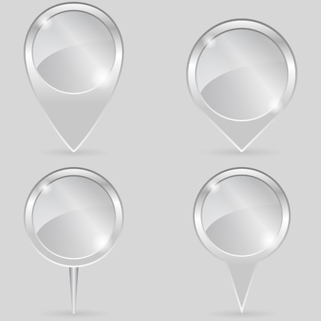 Glass Pointers Vector