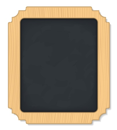 Vertical Blackboard Stock Vector - 12483533