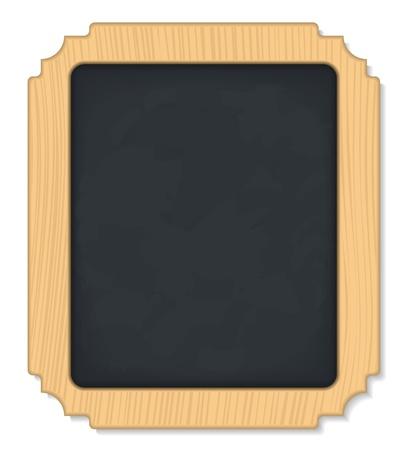 Vertical Blackboard Stock Vector - 12483533