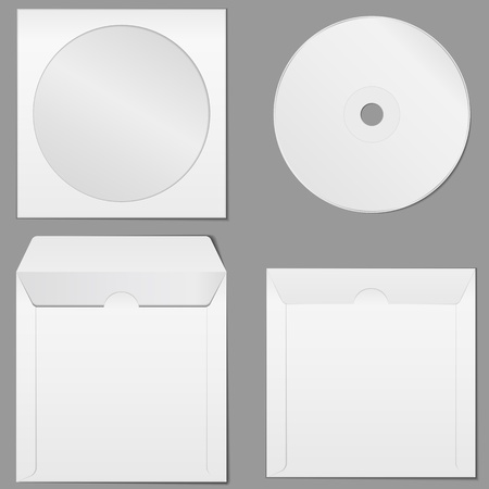 dvd case: CD Case Illustration