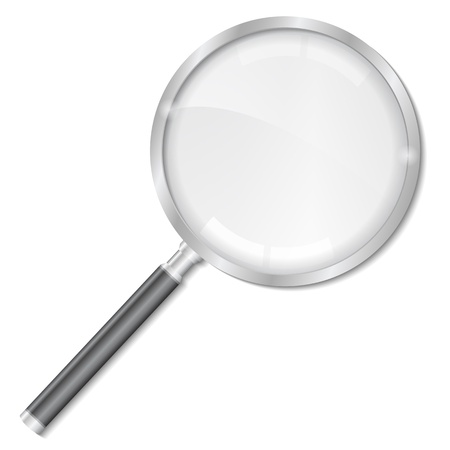 Magnifying glass Stock Vector - 12483536