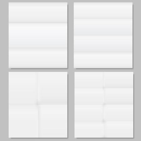Folded paper Stock Vector - 12841433