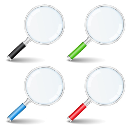Magnifying glasses Stock Vector - 12841444