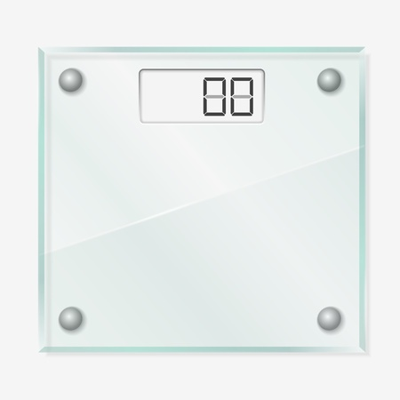 bathroom weight scale: Glass Scale