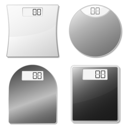 top round: Electronic scales