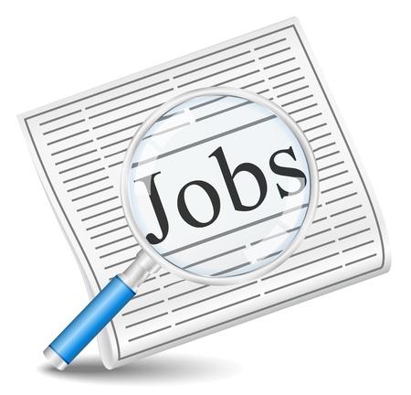help wanted sign: B�squeda de empleo Vectores