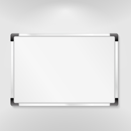 memo board: Whiteboard Illustration