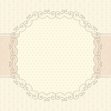 Vintage card Stock Vector - 12841480