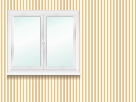Window in the room Stock Vector - 12841467