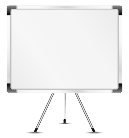 flipchart: Whiteboard Illustration
