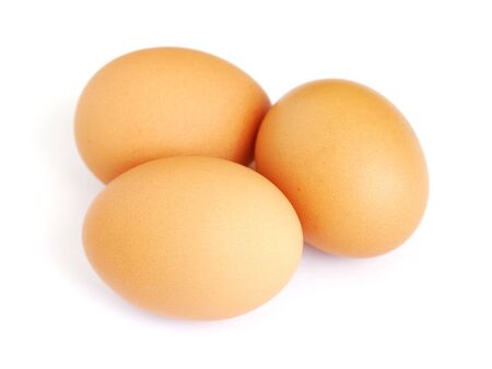 Eggs isolated on white background Stock Photo - 13200824