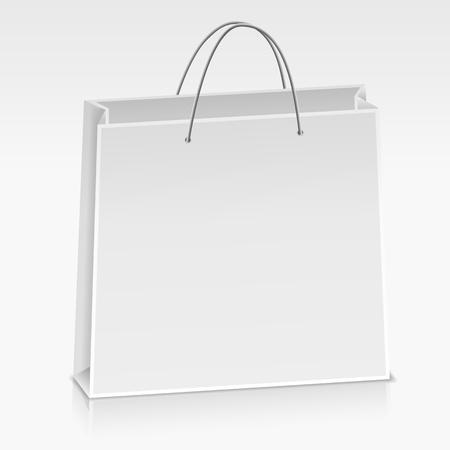 White paper bag Stock Vector - 13423120