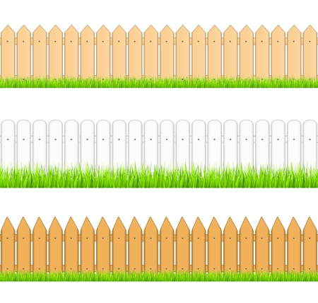 Seamless fences Vector