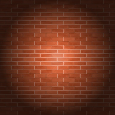 Brick wall Stock Vector - 13520469