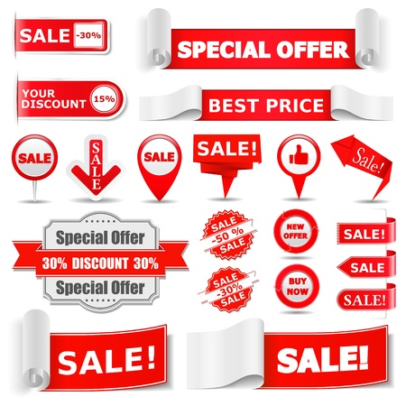 Sale Banners Stock Vector - 13520467