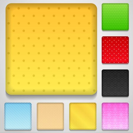 ui design: Application Buttons Set