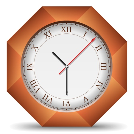 Clock Stock Vector - 13723493