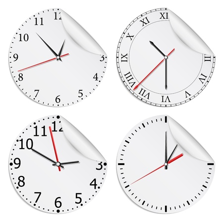 Clocks Stock Vector - 13723435