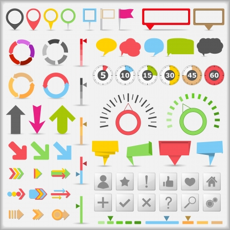 Infographic elements Stock Vector - 13723411