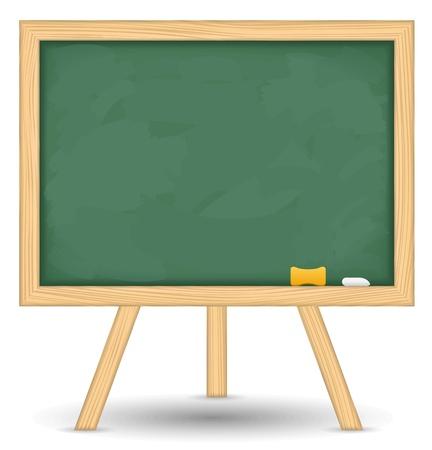 memo board: Blackboard Illustration