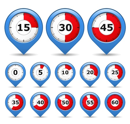 Pointers with timers Vector