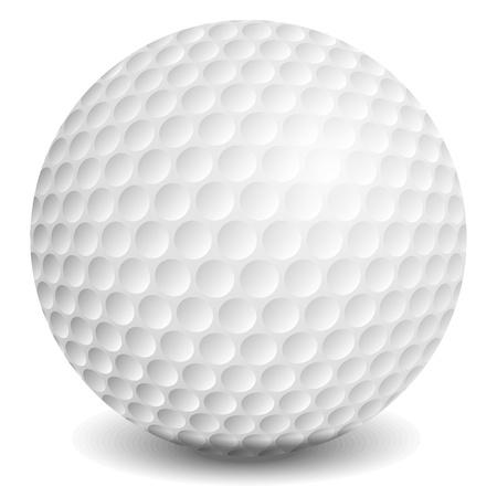 dent: Golf ball