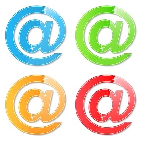 e mail: Email Symbols